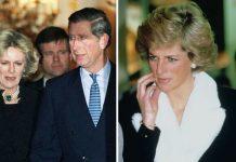 Prince Charles, Camilla Parker Bowles and Princess Diana
