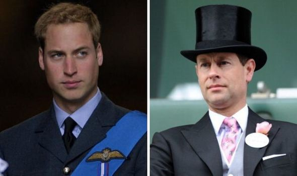 Prince William; Prince Edward