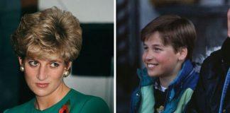 Princess Diana; Prince William