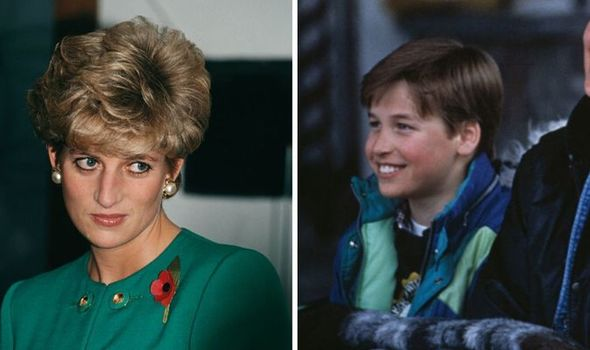 Princess Diana; Prince William