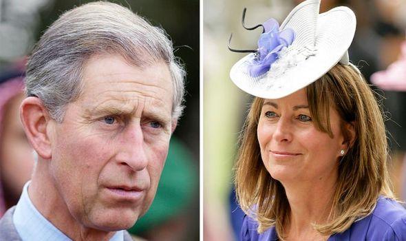Prince Charles and Carole Middleton