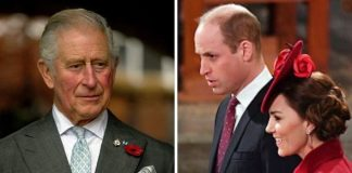 Prince Charles; Prince William and Kate Middleton