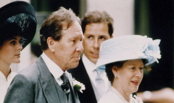 Antony and Margaret divorced in 1978 -- pictured at their daughter's wedding in 1994