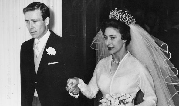 The Queen's younger sister Margaret married Armstrong-Jones in 1960