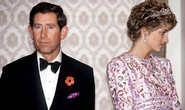 Charles and Diana split in 1992, and divorced in 1996