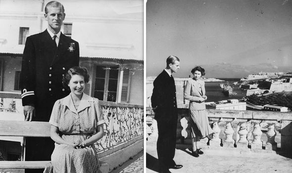 The Queen (then Princess Elizabeth) lived with Prince Philip in Malta from 1949 to 1951