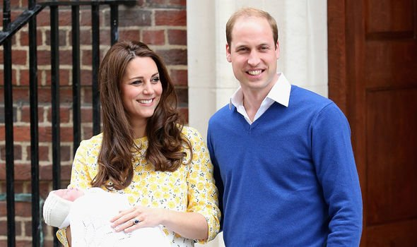 Kate gave birth to Charlotte in May 2015 -- she recently turned five years old