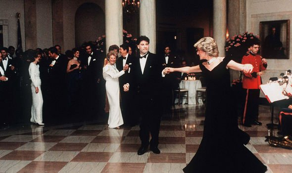 Diana news: The Princess of Wales pictured dancing in the White House with John Travolta