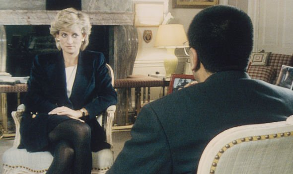 Diana claimed in her 1995 Panorama interview that