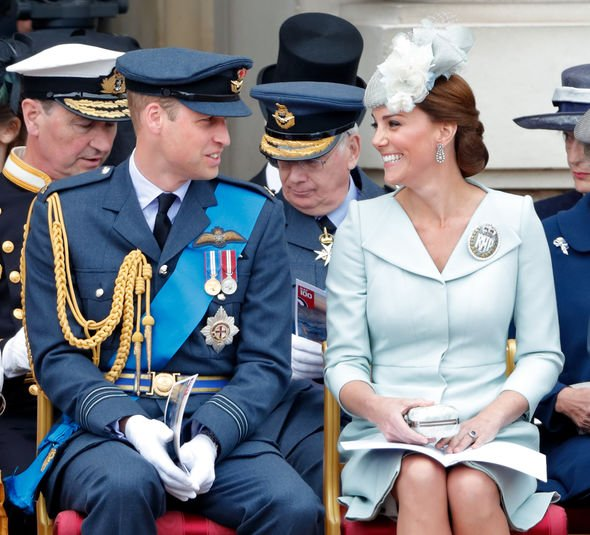 William worked for the RAF until 2013, when he and Kate moved back to London