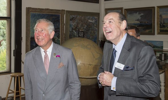 Churchill's grandson Sir Nicholas Soames became good friends with Charles
