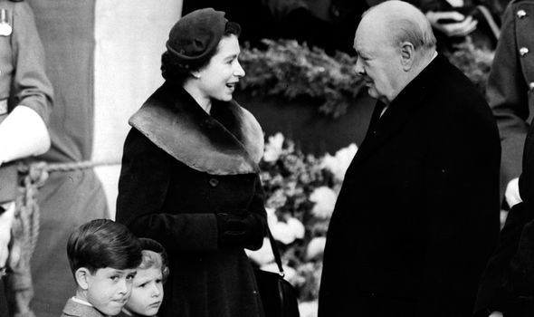 Churchill commented that Charles was