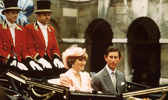 Prince and Princess of Wales going on their honeymoon - Diana's mother said they looked genuinely happy on their wedding day
