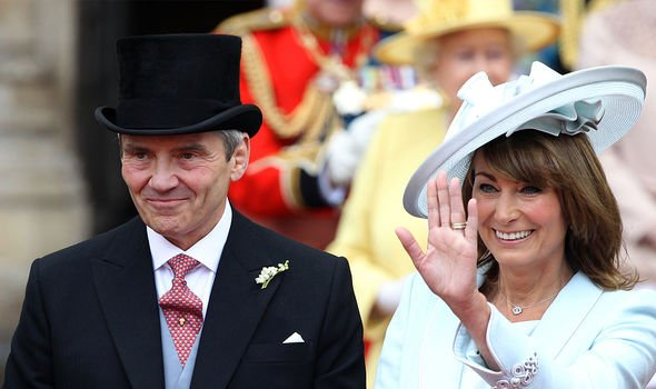Carole Middleton and Michael Middleton are both very close with their daughter Kate