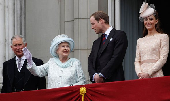 Prince Charles, the Queen, Prince William and Kate Middleton are all at the royal frontline