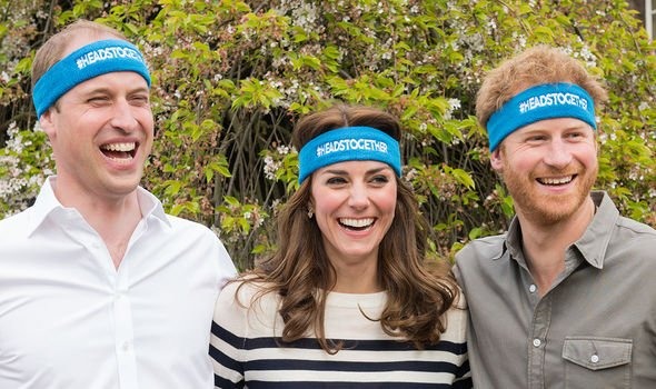 William and Kate spearheaded the Heads Together campaign along with Prince Harry