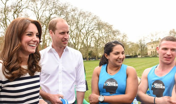 Kate and William at a Heads Together event