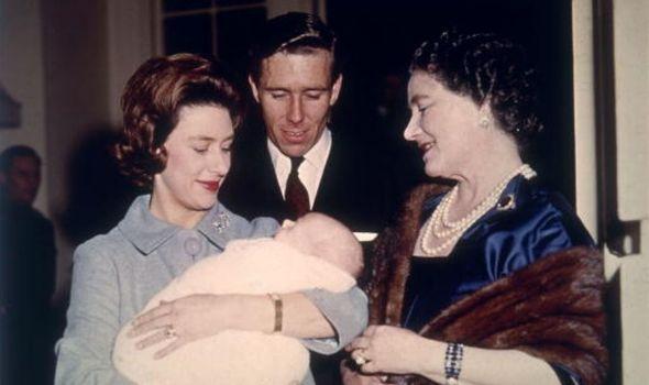 Princess Margaret and Antony Armstorng-Jones with the Queen Mother