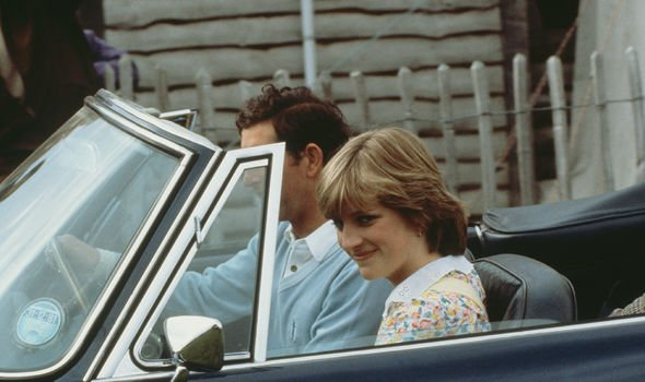 Diana and Charles pictured before their wedding in 1981