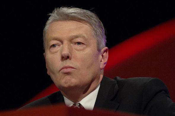 Former Labour Education Secretary Alan Johnson