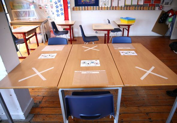 Schools will adhere to specific social distancing guidelines