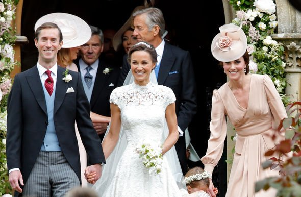 Kate Middleton: Kate supported her sister by holding her dress at her wedding