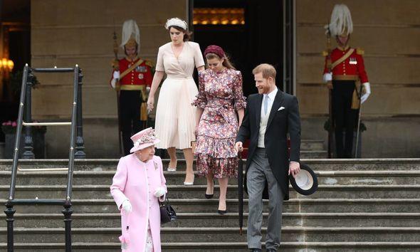 Princess Eugenie snub: Harry, Princess Beatrice and Princess Eugenie