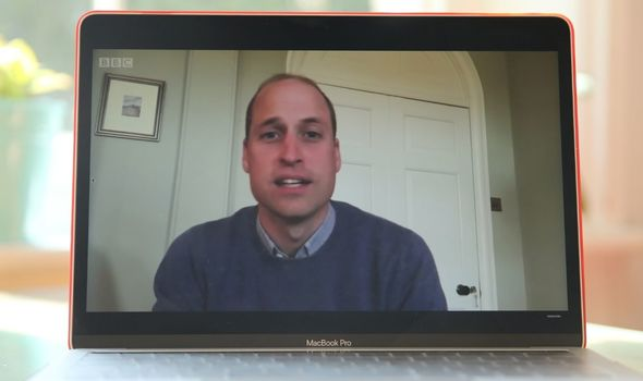 Royal sadness: Prince William video chat