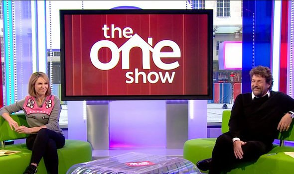 The One Show: Alex and Michael after Prince Harry's clip