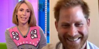 The One Show: Prince Harry appeared in a special