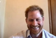 The One Show: Prince Harry appeared via video link