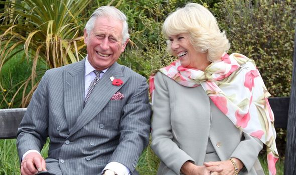Prince Charles title: Prince Charles and Camilla, Duchess of Cornwall