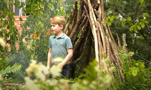 prince george chelsea flower show