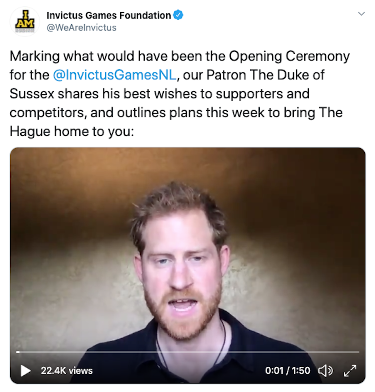 prince harry news ve day invictus games