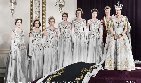 queen elizabeth coronation 1953