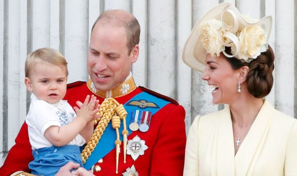 Royal chaos: Prince Louis, Prince William and Kate Middleton
