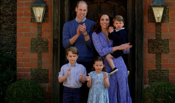 Royal chaos: Prince William, Kate Middleton and Prince George, Princess Charlotte and Prince Louis