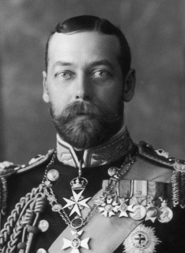 royal family history king george v world war i