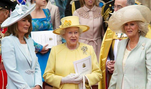 royal family queen camilla