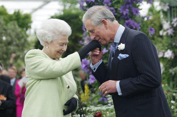 Royal shock: Prince Charles and Queen Elizabeth II