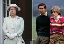 Queen Elizabeth II; Prince Charles and Diana