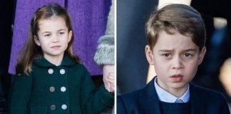 Princess Charlotte; Prince George