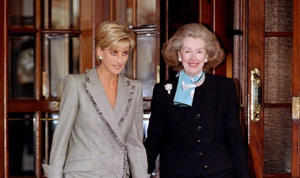 Diana and Raine made up after the Princess of Wales' messy 1996 divorce