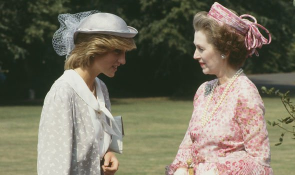 Diana and her stepmother in 1983 - the Princess of Wales was known to call her stepmother 'Acid Raine'