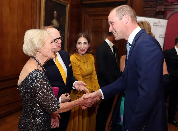 Prince William also spoke to Ms Berry on the TV show and told her about his relationship with his mother, the late Princess Diana