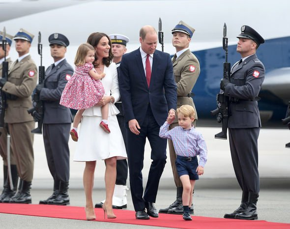 Cambridge's: Kate and William have built up a family loved by Britons