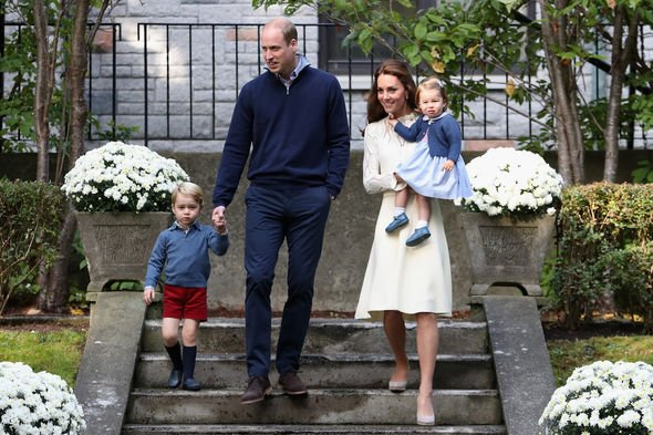 Cambridge's: The Cambridge's have since welcomed Prince Louis into the family