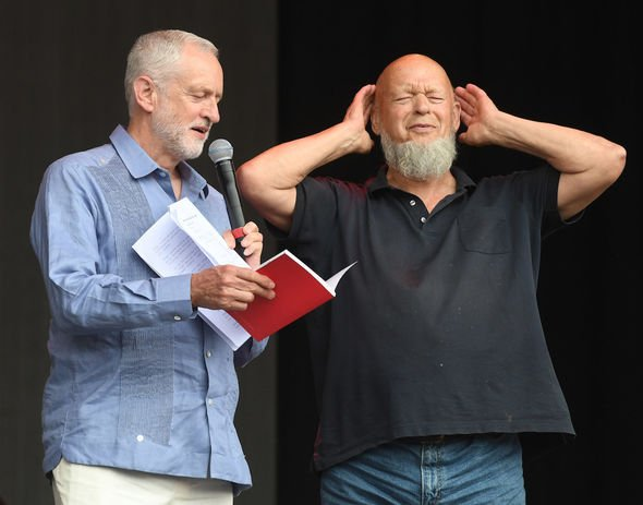 Jeremy Corbyn: The then Labour leader made his famous speech at the festival in 2017