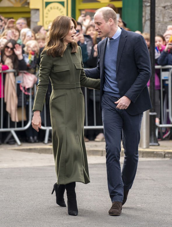 Kate and William: The royal both launched the crisis line last year