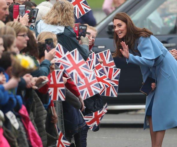 Kate royal duties